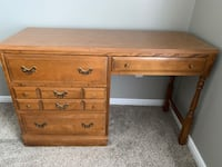 Vintage wood desk Herriman, 84096