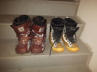 World Industries and Blax Snowboard boots SIZE 7 Calgary