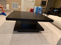 Beautiful contemporary wooden pedestal coffee table with storage underneath. Fairfax, 22033
