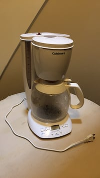White and gray hamilton beach coffeemaker Vaughan, L4J 8G5