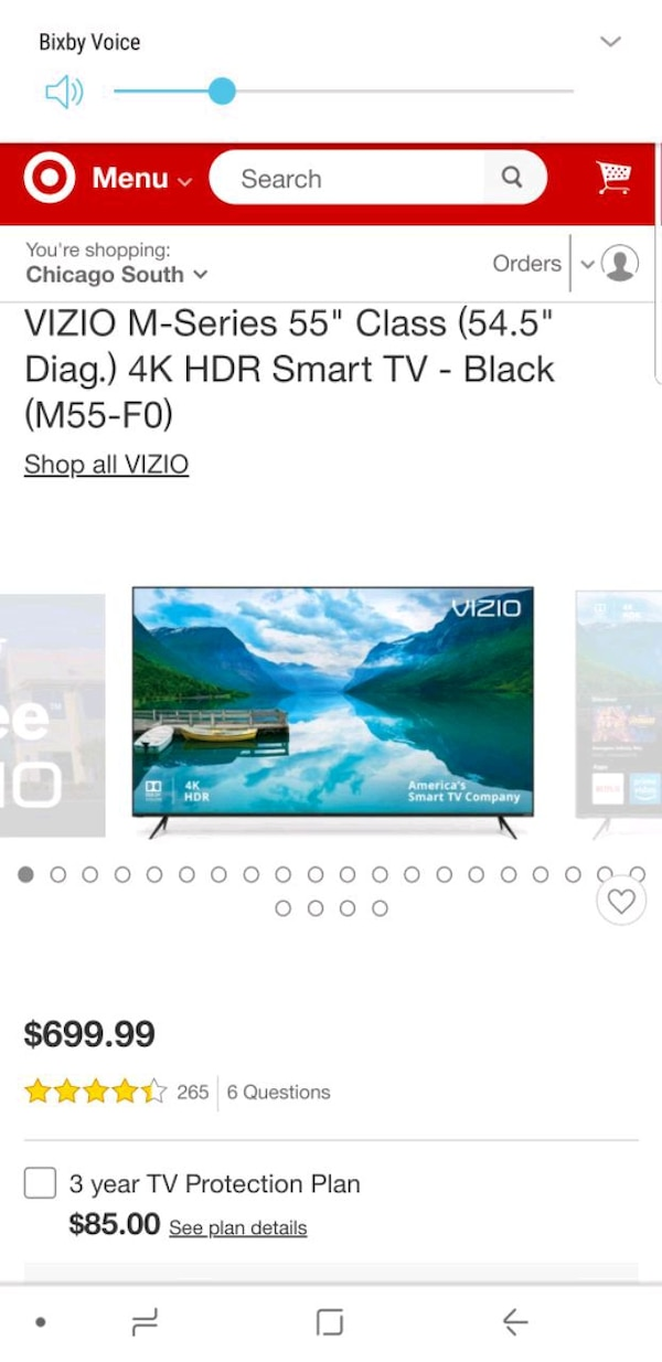 55 in vizio M series Top notch products