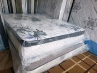 New queen mattress+ box spring delivery 30 to 50 depends how far Edmonton, T5T 1W2