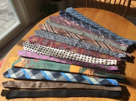 Men's good selection ties $ 7.00 each