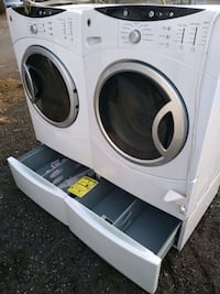 Washer and dryer steam washer