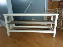 Bench with Shoe Racks