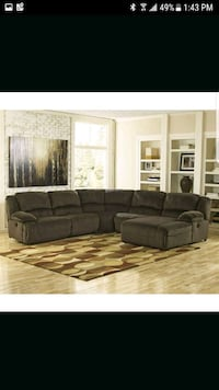 Super comfortable brand new Ashley recliner sectio Stockton, 95203