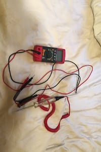 Multimeter and test light snap on
