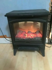 black and red electric fireplace Springfield, 65802