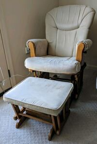 Barely used glider and ottoman (shermag) Fairfax, 22031