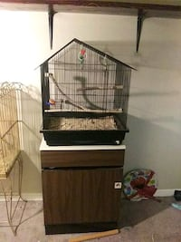 Cage with stand and all accessories