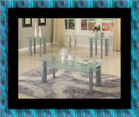 Glass white coffee table Woodbridge, 22191