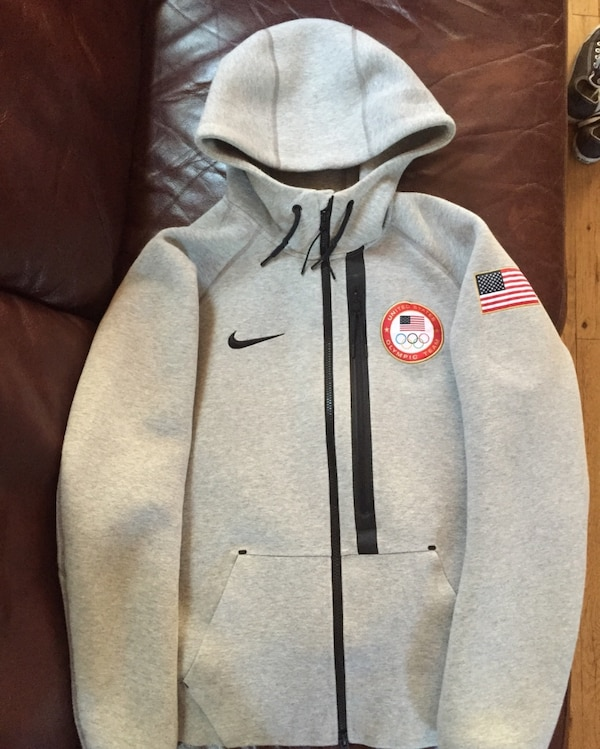 newest collection d57bd 514ca Used Sochi Olympics team USA Nike tech fleece jacket for sale in New York -  letgo