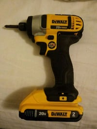 yellow and black Dewalt cordless impact wrench Silver Spring, 20906