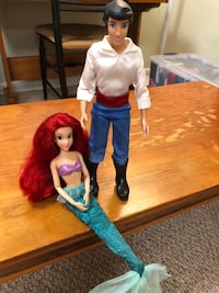 Disney Little Mermaid Doll Set Montgomery Village, 20886