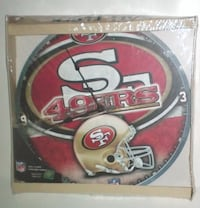 San Francisco 49ers Wall Clock by Wincraft Sports New London