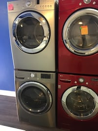 LG front load washer and dryer set in excellent condition  Baltimore, 21223