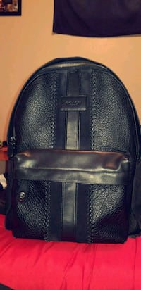 black leather Coach backpack Northglenn, 80233