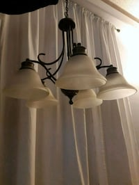 two white and black table lamps Burnaby, V3J 1M8