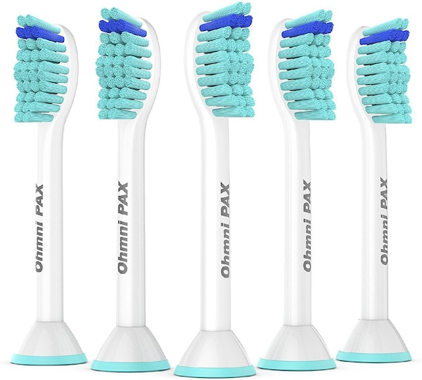OhmniPax Premium Replacement Toothbrush Heads