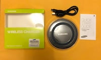 BNIB Qi Wireless Charger-Black/White-Shipping option available  Ajax, L1S 0C8