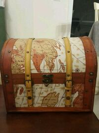 Old World Map Chest Naples, 34119