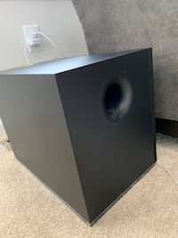 Vizio 50 inch soundbar with speakers and subwoofer