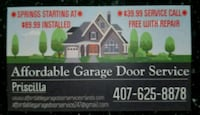 Garage Door Service  Edgewood