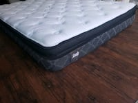 New double mattress eurotop. Delivery available  Edmonton, T5A 4H3