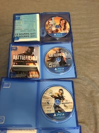 PS4 games, price negotiable Barrie