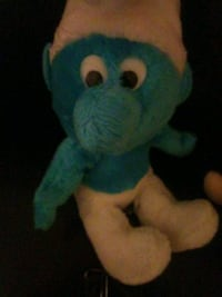 Smurfs plush Lexington