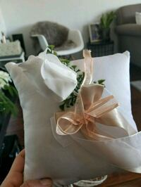 Ring pillow for wedding ...