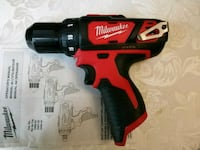 Milwaukee m12 cordless drill driver Houston, 77059