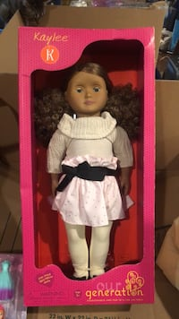 doll in white and black dress Stillwater, 55082