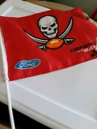 Tampa Bay Buccaneers car flags $4 each or 3 for 10 Largo, 33770