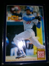 Mike piazza rookie