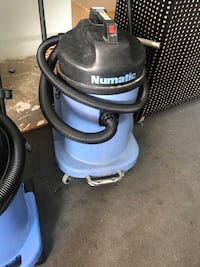 blue and black Numatic wet and dry vacuum cleaner London, E17 6PZ