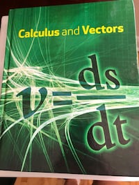 Calculus and Vectors Nelson Textbook