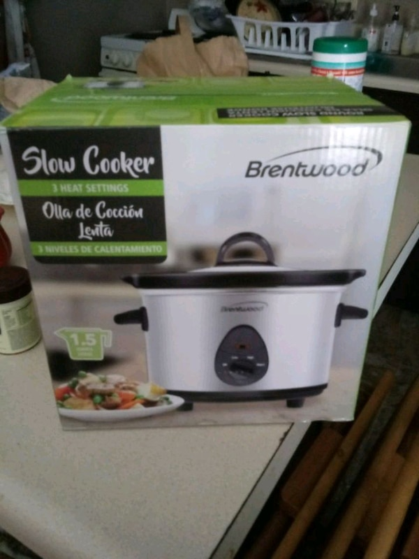 Selling a brand new slow cooker