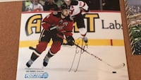 Signed photo in person by Kris Russell  Calgary, T2T 3L1