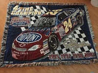 4 time champion dale racing car area rug Palm Harbor, 34684
