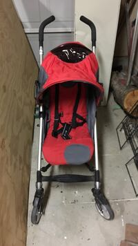 baby's red and gray stroller Rocklin, 95677