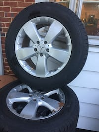 """18"""" Mercedes GL and ML class All Season OEM wheels rims and tires"""