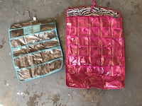 Two pink and blue pocket organizers Los Angeles