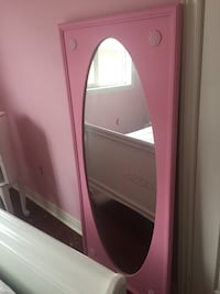 Pink mirror 26 x 58 - with wire on back -ready to hang  Vaughan, L6A 2H4