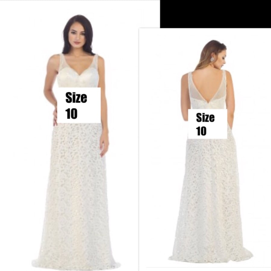 New With Tags Size 10 Bridal Gown $175