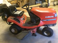 42 inch deck- Kubota Lawn Tractor-  BEDFORD