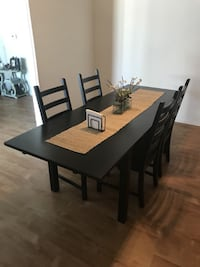 IKEA Dining room table (chairs + leaf + table) Pasadena
