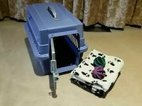Small Dog Cat Pet Travel Kennel/ Crate-Periwinkle Brampton, L6P