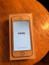 Rose gold iphone SE with box Wilson, 21740
