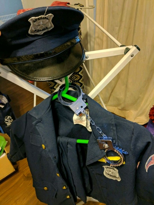 Size Small police costume worn once by daughter